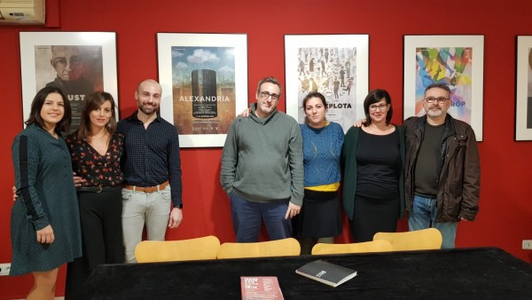 La producció de l'Institut Valencià de Cultura 'Alexandria' s'estrena al teatre Rialto