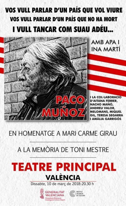 Paco Muñoz al Teatre Principal