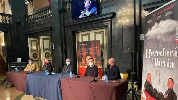 L'Institut Valencià de Cultura presenta 'Heredarás la lluvia' la nova producció de L'Om Imprebis