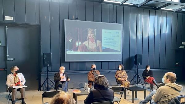 'Tórtola' arriba a les Naves del Español a Madrid