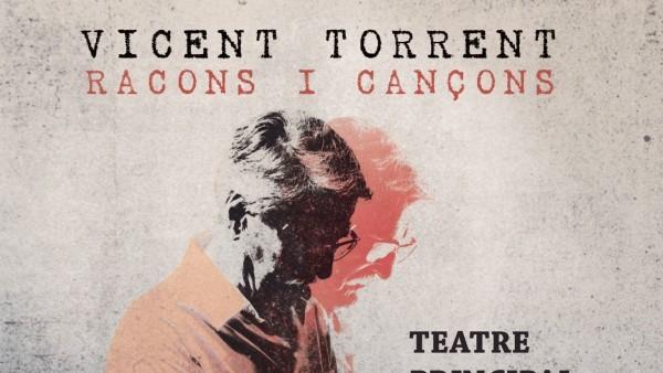 Vicent Torrent presenta 'Racons i cançons' al Principal de València