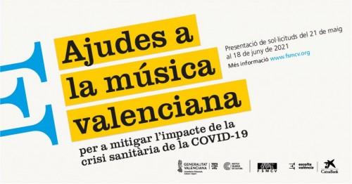 Ajudes a la música valenciana