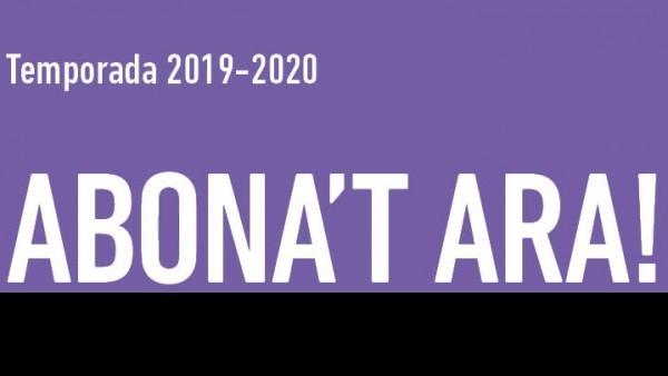 ABONAMENT DE TARDOR 2019