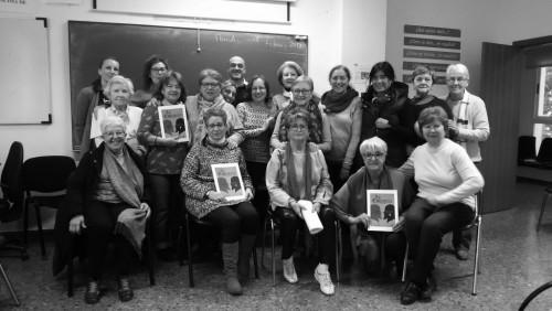 Chema Cardeña, Antonia Bueno y su club de lectura
