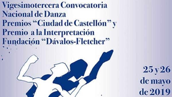 """Premios """"Ciudad de Castellón"""" y Premio a la Interpretación Fundación """"Dávalos-Fletcher"""""""