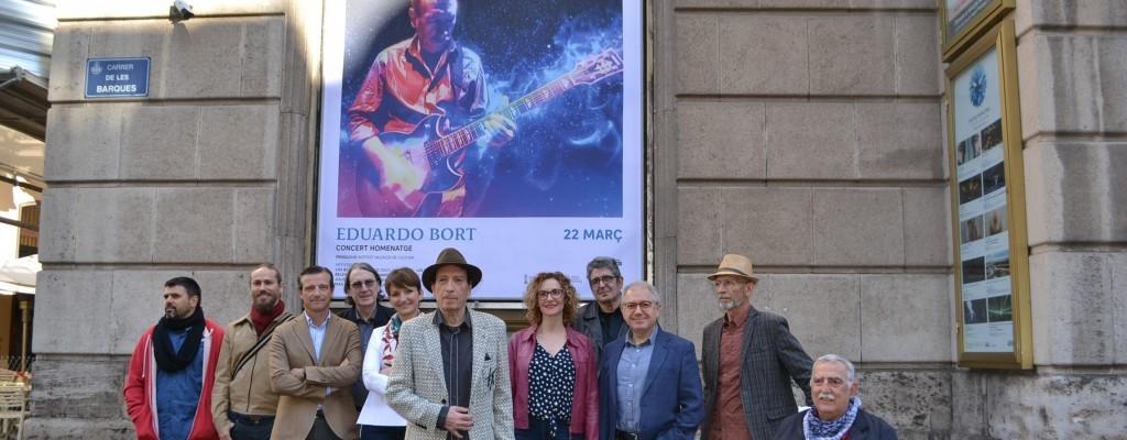 Concert-homenatge al guitarrista valencià Eduardo Bort al Principal