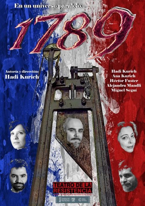 1789 - Teatro de la Resistencia - cartel