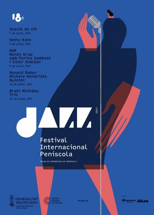Cartell 18é Festival Internacional de Jazz de Peníscola