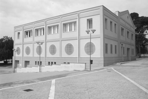 El edificio de La Granja