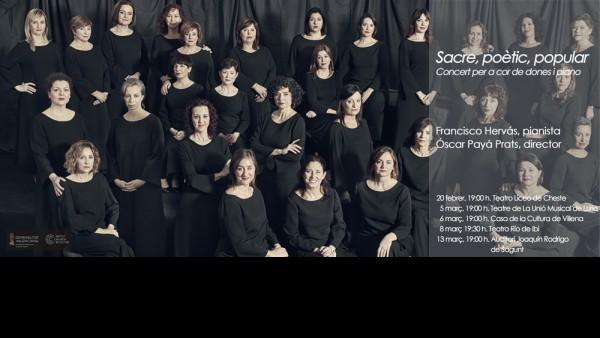 Concierto de voces femeninas del Cor de la Generalitat