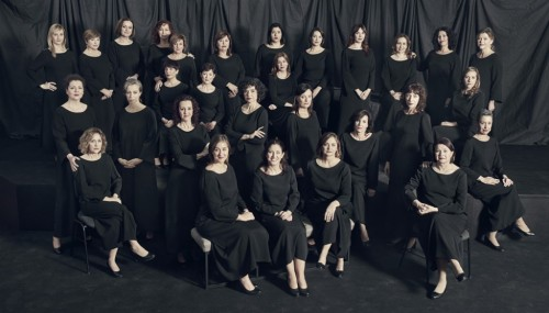 Veus femenines del Cor de la Generalitat
