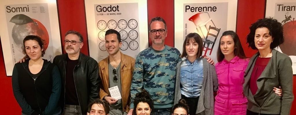 L'Institut Valencià de Cultura presenta la seua nova producció, 'Godot'