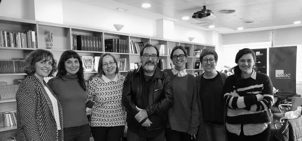 Comencen les lectures dels textos de l'Insula Dramataria Josep Lluís Sirera