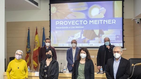 L'IVC juntament amb el CSIC i la UV presenten 'Proyecto Meitner'