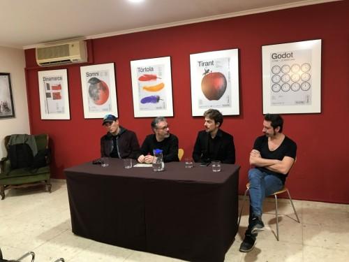 Presentación de Lehman Trilogy en el Principal de València