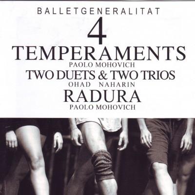 Ballet Generalitat 4: Temperaments / Two duets & two trios / Radura