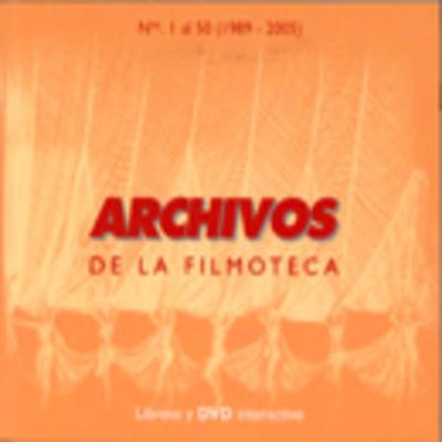DVD. Reproducción Edición Facsímil Revista Archivos de la Filmoteca