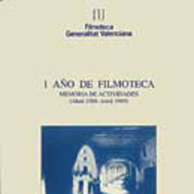 Memoria anual de la filmoteca, 1989