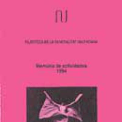 Memoria anual de la filmoteca, 1994