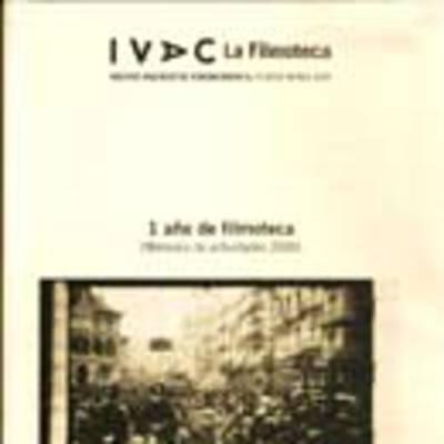 Memoria de actividades, 2000