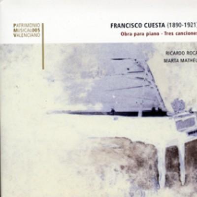 Obra para piano - Tres canciones