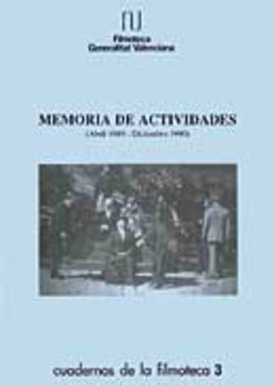 Memoria anual de la filmoteca, 1990