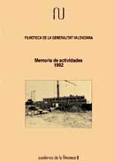 Memoria anual de la filmoteca, 1992