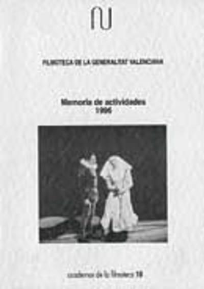 Memoria anual de la filmoteca, 1996