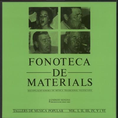 Fonoteca de materials, vols I-VI (LP)