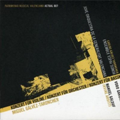 Konzert für violine / Konzert für Orchester / Konzer für Bassklarinette