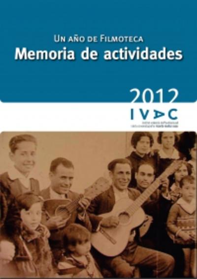 Memoria de Actividades 2012