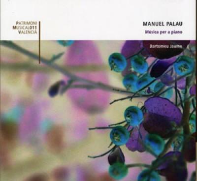 Música para piano de Manuel Palau