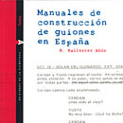 Manuales de construcción de guiones en España