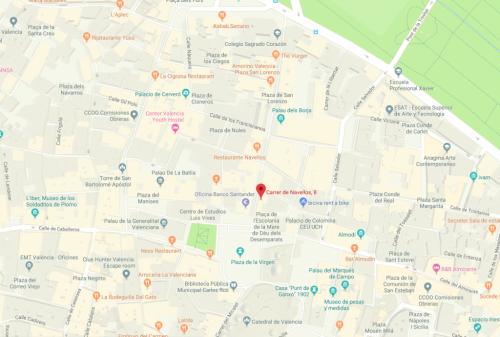 Mapa Llig