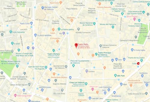 Mapa Rialto