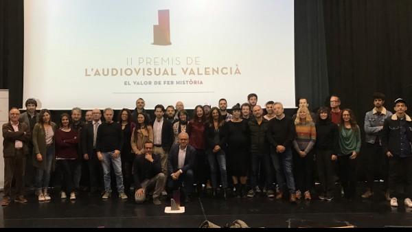 Trobada de nominats Premis de l'Audiovisual Valencià