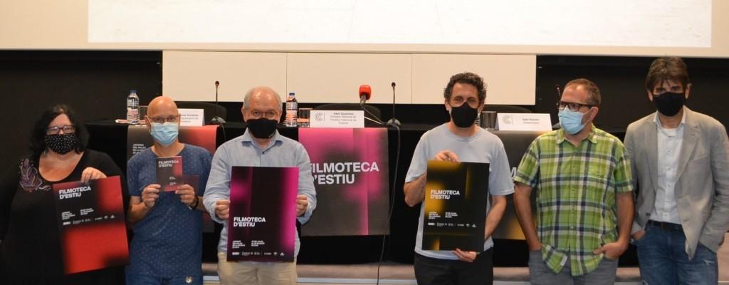 Presentamos la Filmoteca d'estiu 2021