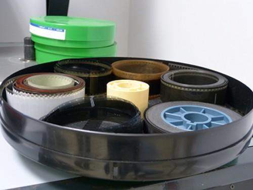 Envase con ventilación de la Filmoteca Valenciana