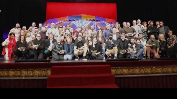 Gener, amb tres guardons, triomfa als Premis Carles Santos de la Música Valenciana