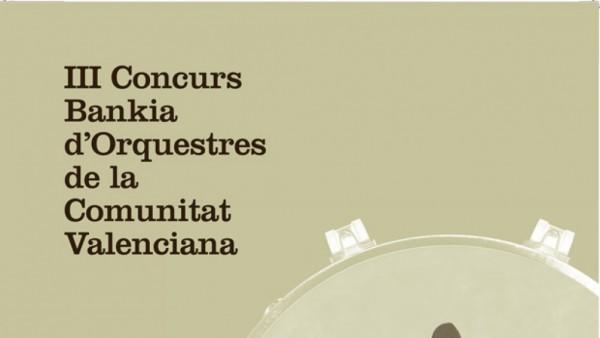 III Concurs Bankia d'orquestres de la Comunitat Valenciana