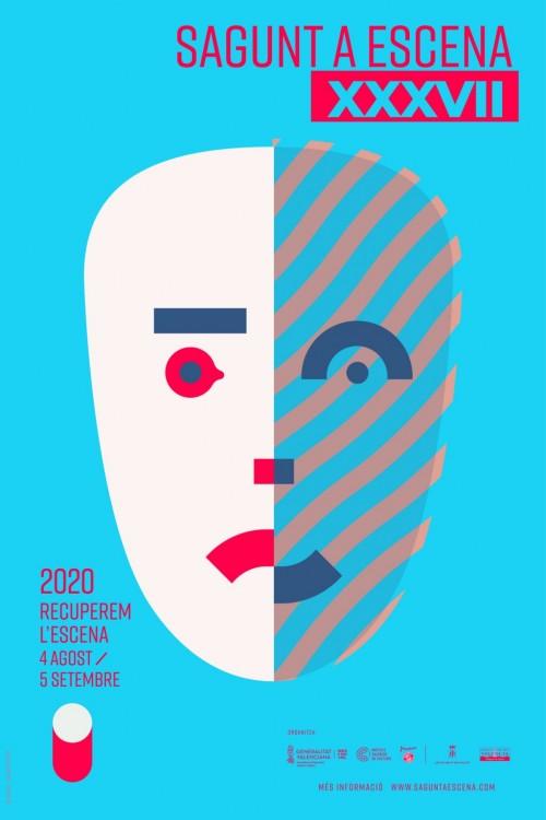 Cartell Sagunt a Escena 2020