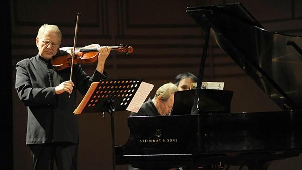 SHLOMO MINTZ, violí & ITAMAR GOLAN, piano