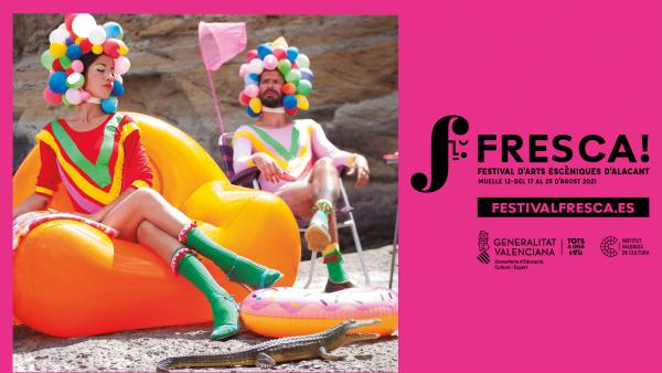 Ja estan a la venda les entrades per al Festival d'Arts Escèniques FRESCA! de l'IVC