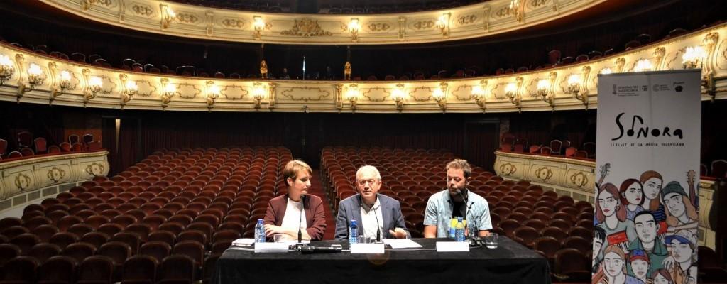 L'Institut Valencià de Cultura presenta Sonora, el circuit de la música valenciana