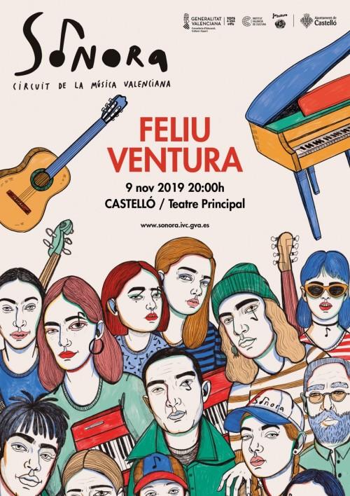 Cartell del concert de Feliu Ventura