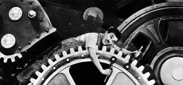 DESCUBRIENDO CINE: TIEMPOS MODERNOS, CHAPLIN, 1936
