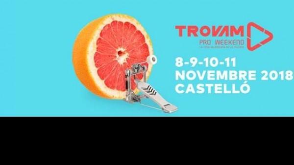 Del 8 a l'11 de novembre a Castelló Tovam!