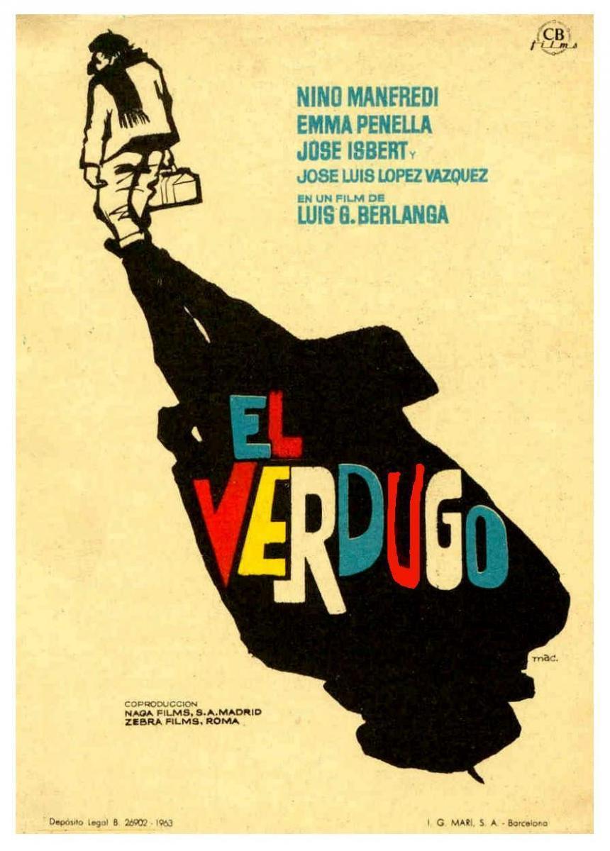 EXPERIENCIA CINED: EL VERDUGO